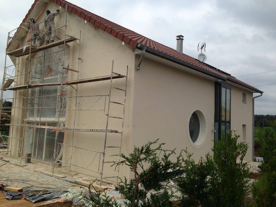 crépi isolation rénovation ravalement enduit peinture vosges