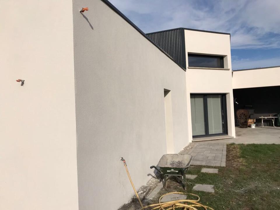 crépi isolation rénovation ravalement enduit peinture anould